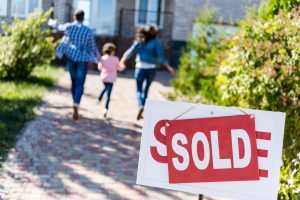 Military Family Buying Home